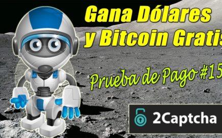 Trabaja desde Casa y Gana Dinero Gratis | 2Captcha Nuevo Pago en Bitcoin | Gokustian