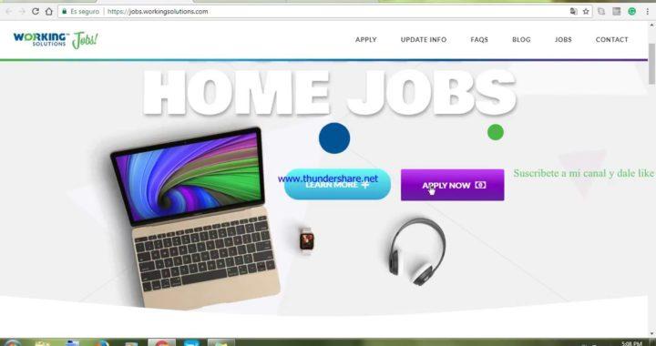 Trabajo desde casa por internet 2018 (call center)