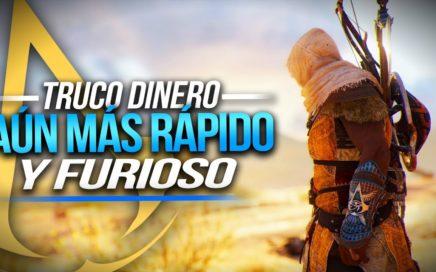 Truco del Dinero Aún MÁS RÁPIDO y FURIOSO - Assassin's Creed Origins Tutorial