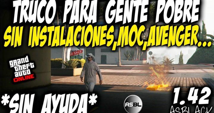 TRUCO PARA POBRES - SIN AYUDA - SIN INSTALACIONES - GTA 5 - SIN AVENGER - SIN MOC - (PS4 - XB1 - PC)
