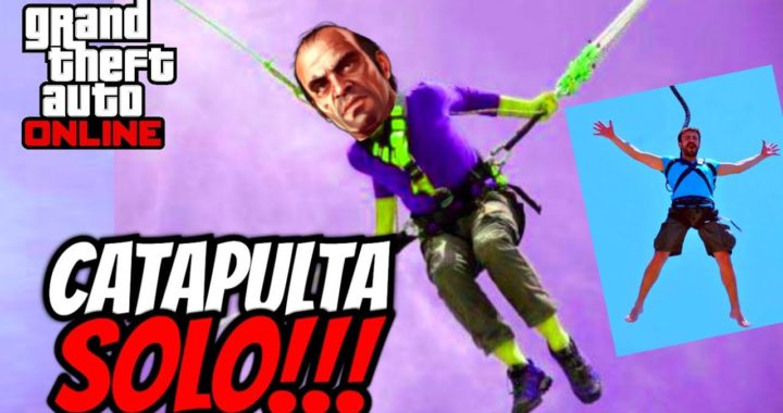 TRUCO - VOLAR POR EL MAPA CATAPULTA GTA 5 ONLINE!! -NUEVA CATAPULTA TRUCOS PS4,XBOXONE.PS3,XBOX 360