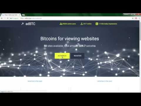 TUTORIAL Adbtc 2018 - Gana Dinero Viendo Anuncios Automaticamente