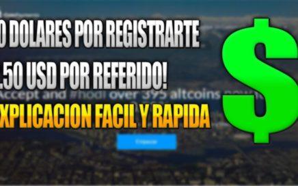 10 DOLARES SOLO POR REGISTRARTE + 2.50$ POR REFERIDO | Explicación Rápida y Sencilla | VicHu-Money.