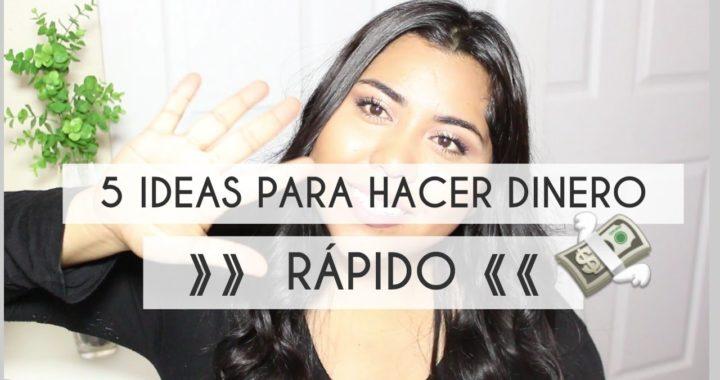 5 IDEAS PARA HACER DINERO RAPIDO!   EL DIARIO DE MARIELA