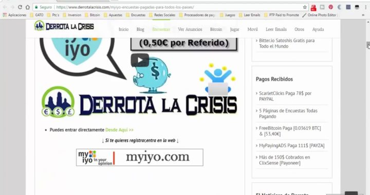 5 Paginas De Encuestas Que Pagan Por Paypal  Como Ganar Dinero Con Encuestas  Quiero Dinero