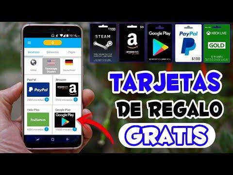 Aplicacion Para Conseguir Tarjetas De Regalos GRATIS Y Ganar Dinero Para PayPal En Android 2018