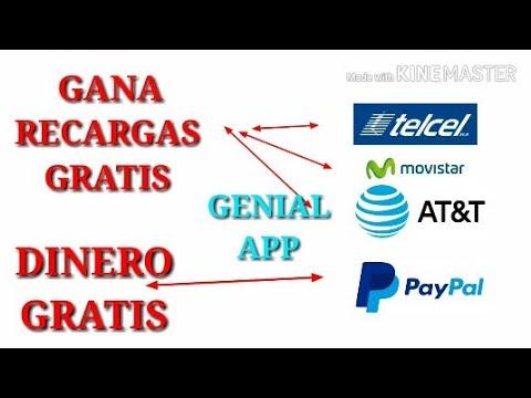 Aplicación para Ganar Recargas Gratis y Dinero por PayPal  2018