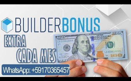 BUILDER BONUS / BONO CONSTRUCTOR | $us 100 EXTRA CADA MES | 4Life BOLIVIA [Tu Ultima Dieta]