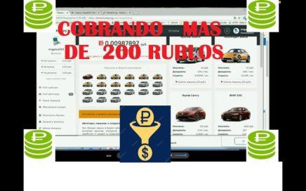 cobrando mas 200 rublos pag rusas invirtiendo en motormoney gamemining abril 2018