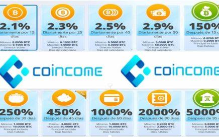 COINCOME - Como ganar Dinero en Trading de Criptomonedas/ Presentación de Negocio en Español
