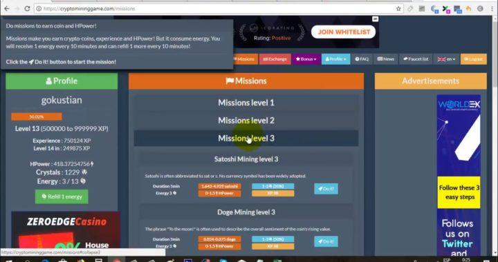 Cómo Abrir mas de una Misión en Crypto Mining Game | Gokustian