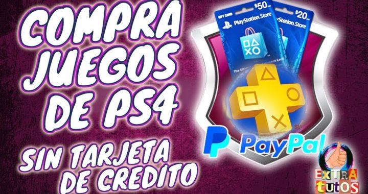 COMO COMPRAR JUEGOS DE PS4 CON PAYPAL | COMPRAR EN PS STORE SIN TARJETA DE CREDITO