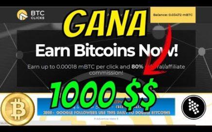 Como Gana! 900$ Diarios Con esta Página de (Bitcoin) 100% Efectiva y REAL 2018