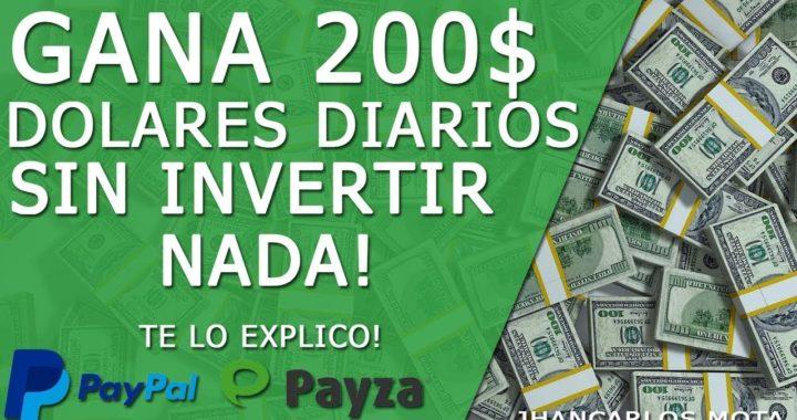 COMO GANAR 200 DOLARES DIARIOS POR INTERNET NUEVO METODO + TRUCO ( ABRIL 2018 ) (ACTUALIZADO)