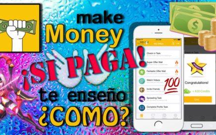 Como ganar $$$ con Make Money y no MORIR en el intento | COMPROBANTE de pago | APP #7