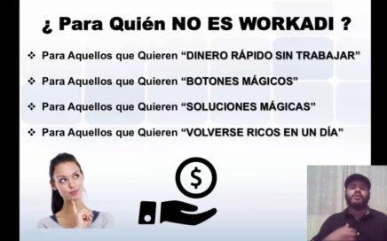 Como Ganar dinero con Workadi | Ingresos Rapido | Dinero al Instante | 2018