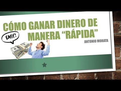 """Cómo ganar dinero de manera """"rápida""""   Antonio Morata"""