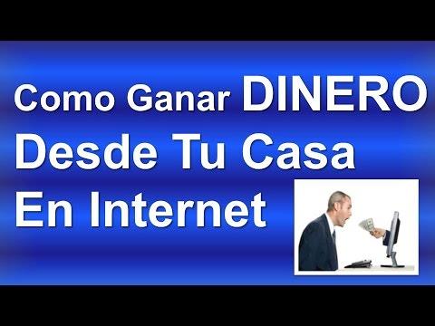 Como Ganar Dinero Desde Tu Casa En Youtube | Como ganar dinero desde tu casa en internet