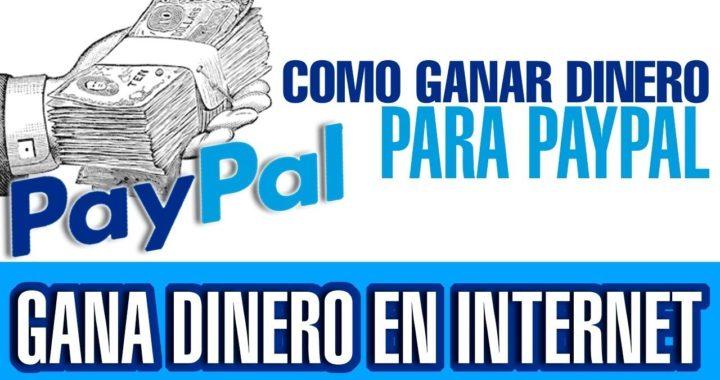 COMO GANAR DINERO EN INTERNET 25 USD DIARIOS + COMPROBANTE [PAYPAL]