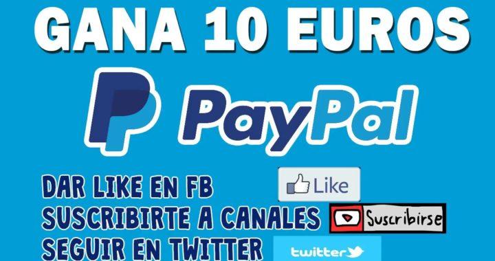 ¡¡Como ganar dinero en paypal (Fan por Fan) 10 Euro!! | 2018