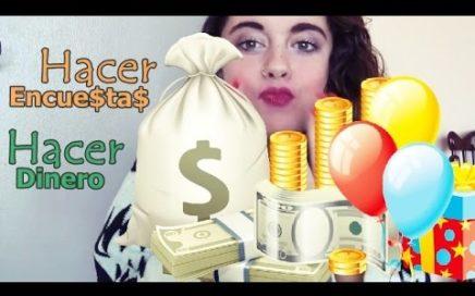 Cómo ganar dinero: $$$ encuestas remuneradas $$$