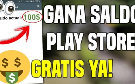 Como GANAR Dinero GRATIS para la Play Store de Manera LEGAL 2018