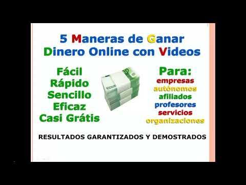 Cómo Ganar Dinero Online con Videos