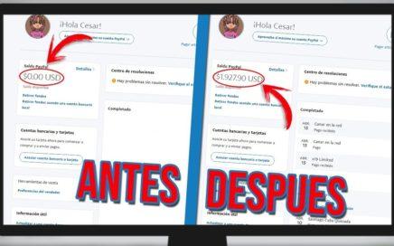 COMO GANAR DINERO PARA PAYPAL MAS DE 80$ DOLARES CADA SEMANA | SOLO REGISTRANDOTE EN UNA PAGINA