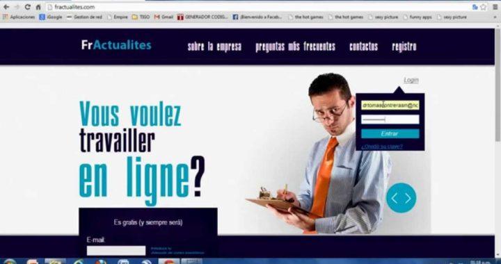 Como ganar dinero por Internet, 800 euros fácil y rápido...