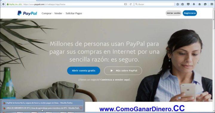 Como ganar dinero por internet Facil Y Rápido - dinero mientras duermes Para Paypal - Cash Synergy