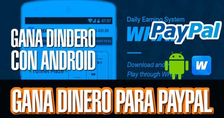COMO GANAR DINERO REAL CON ANDROID PARA PAYPAL FACIL Y SEGURO || WHAFF REWARDS || BIEN EXPLICADO