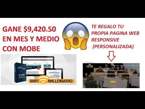 COMO GANAR DOLARES POR INTERNET 2018 | TRABAJO DESDE CASA | MOBE EN ESPAÑOL