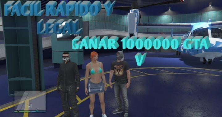 COMO GANAR UN MILLON FACIL Y LEGAL EN GTA V EXPLICADO XBOX ONE