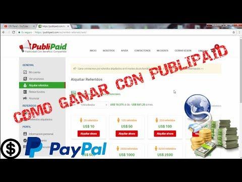 Como Gano DINERO!! con PubliPaid || Como GANAR $$ POR INTERNET