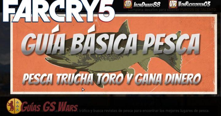 Cómo Pescar en FAR CRY 5 | Guía Básica de PESCA