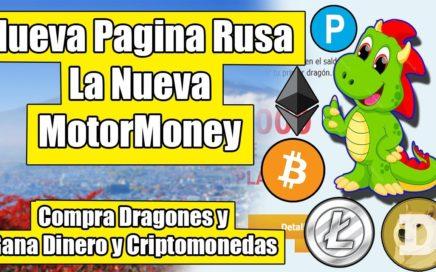 Compra Dragones y Gana Rublos y Criptomonedas Pagina Muy Rentable y Prometedora 2018