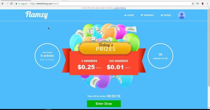 Comprobantes de pago Paypal de Flamzy + método alternativo para ganar dinero