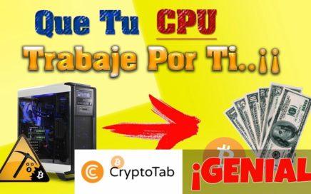 CryptoTab | GANA DINERO CON LA MINERÍA DE GOOGLE CHROME |