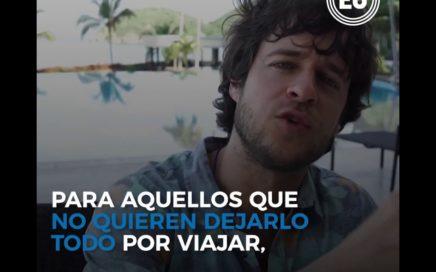 Daniel Tirado, joven colombiano que gana dinero mientras recorre el mundo