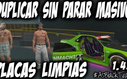 DUPLICAR COCHES - MATRICULA LIMPIA - GTA 5 - TRUCO DE DINERO INFINITO MASIVO - (PS4 - XBOX One)