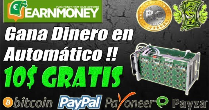 EARN MONEY PAGANDO ( GANA DINERO POR INTERNET)
