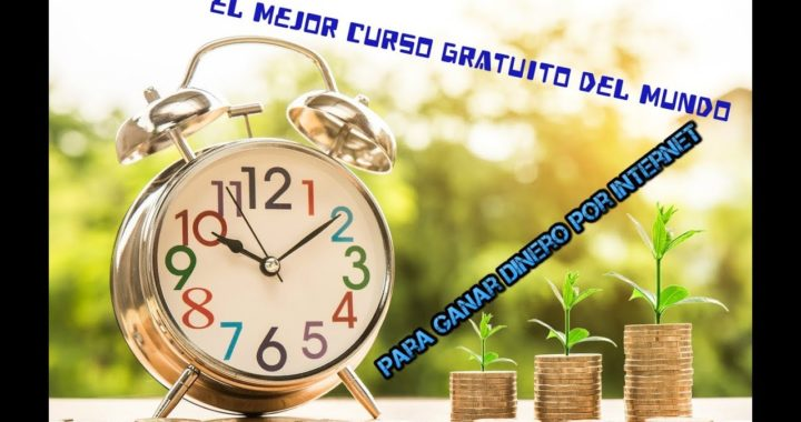 EL MEJOR (( CURSO DE TODO INTERNET ))**PARA GANAR DINERO GRATIS**