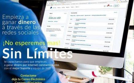 El Mejor Sistema Para Ganar Dinero Por Internet 2018 / *PRUEBA DE PAGO* / Sistema Sin Limites 2018