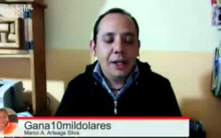 Entrevista Ronald Vasquez/ Ganar Dinero On Line.