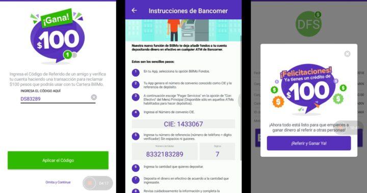 Experiencia con BILLMO Gana Facil Promocion BANCOMER CAJERO