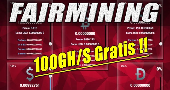 FairMining Tutorial | Minería en la Nube, Gana Dólares y Criptomonedas (100GH/S GRATIS) | Gokustian