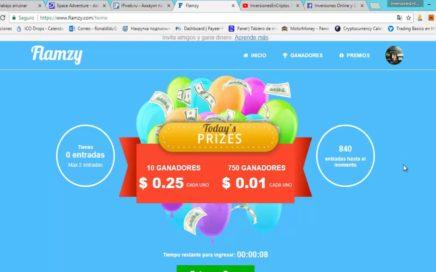 Flamzy ! Gana Hasta $20  al Dia Para Paypal  Solo por Ver Vídeos ! ( PARA VENEZUELA )