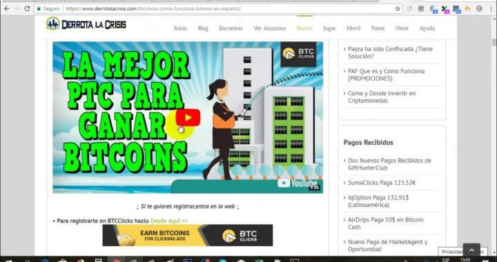 Gana Bitcoin Gratis a Uphold viendo Anuncios | BTCClicks Paga Abril 2018 | Gokustian