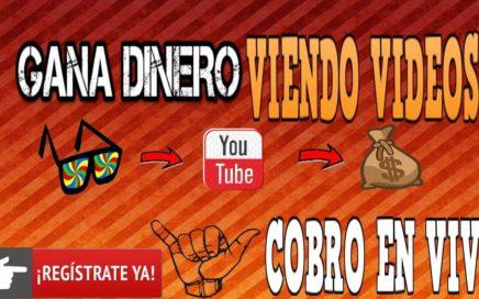 GANA DESDE 0,10$ CON YOUTUBE DIARIOS !! ( COBRANDO EN VIVO )