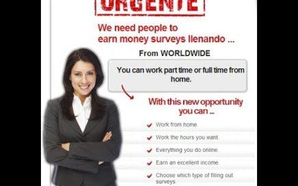 Gana dinero con encuestas Review | Aprenda cómo trabajar desde casa Utilizando encuestas pagadas